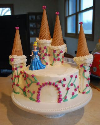 Princess Castle Cake Cakes Pinterest Princess castle Castles