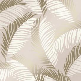 Vivienne Leaf Wallpaper Navy Gold Leaf Wallpaper Feature Wallpaper Gold Wallpaper