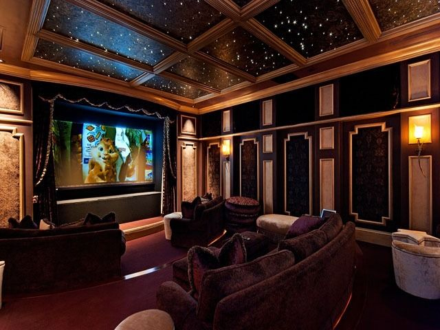 This Reminds Me Of Harry Potter I Love It I Would Totally Make This Room Look Even More Potterish It Would Be H Home Theater Design Home Cinema Room Home