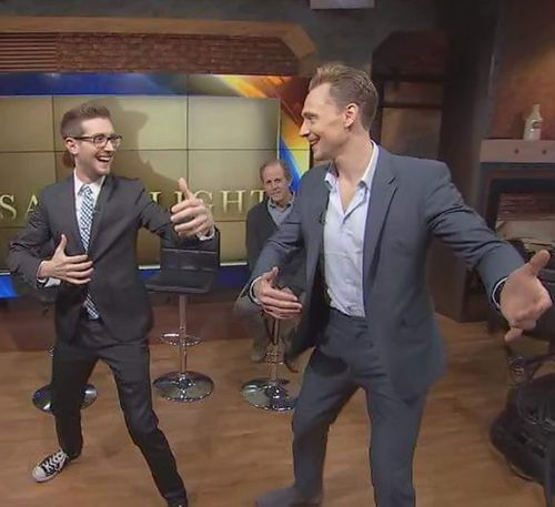 """""""That moment when Loki (Tom Hiddleston) is teaching you how to two step dance like Hank Williams."""" https://m.facebook.com/KevinMcCarthyFOX/photos/a.1598770243723169.1073741828.1597682427165284/1685143278419198/?type=3&source=54"""