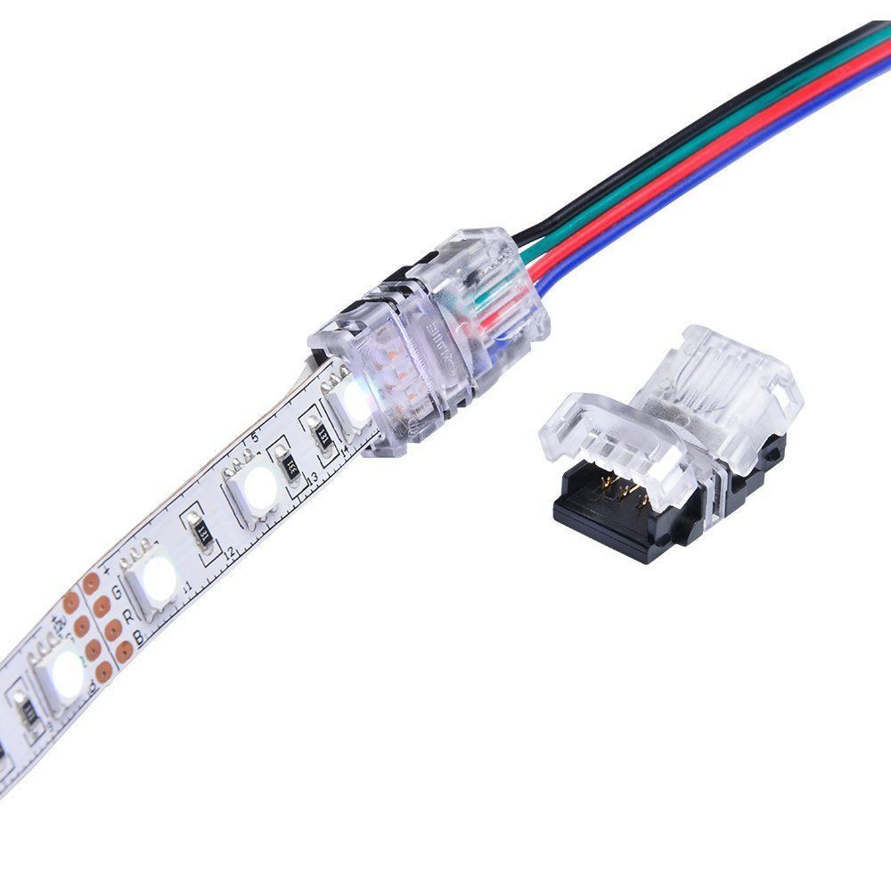 Wire Connector Cable Cord For 3528 5050 Rgb Led Strip Light Led Strip