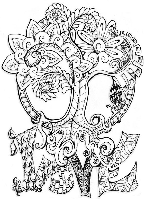 Tree Of Life Coloring Pages Google Search Love Coloring Pages