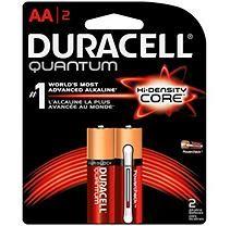 Duracell Quantum Aa Alkaline Batteries 2 Ct Duracell Duracell Batteries Aaa Batteries