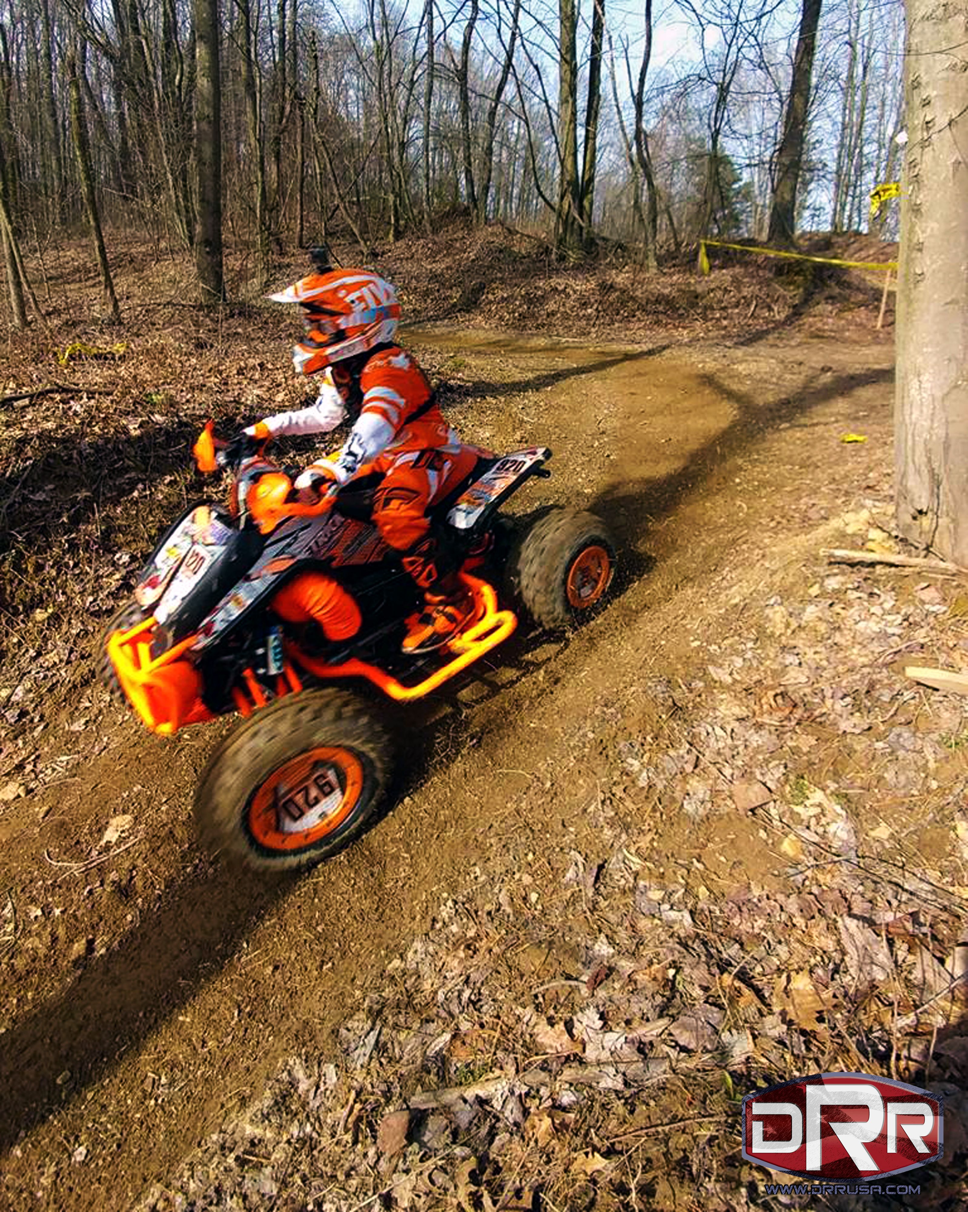 caiden hays at eroc round 1 crow canyon riding his drr drx 90cc atv mod placed 1st overall  [ 3196 x 4000 Pixel ]