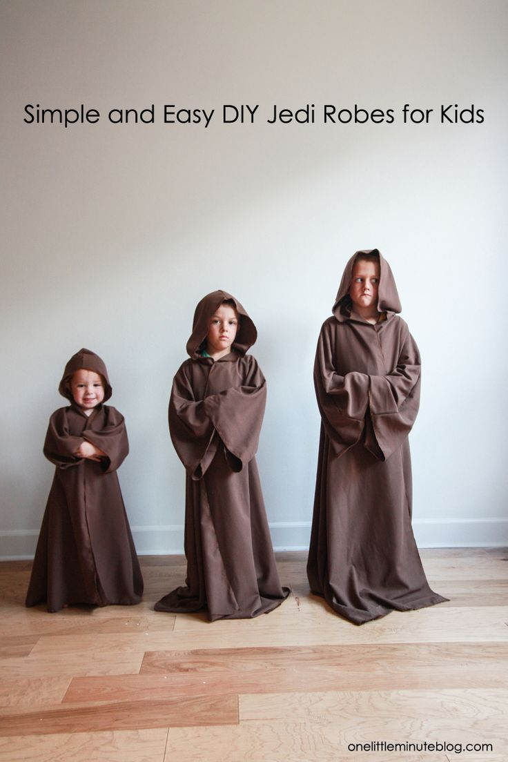 Diy jedi robe for kids robe tutorials and patterns diy jedi robe for kids full tutorial no pattern required in partnership with downywrplus ad solutioingenieria Images