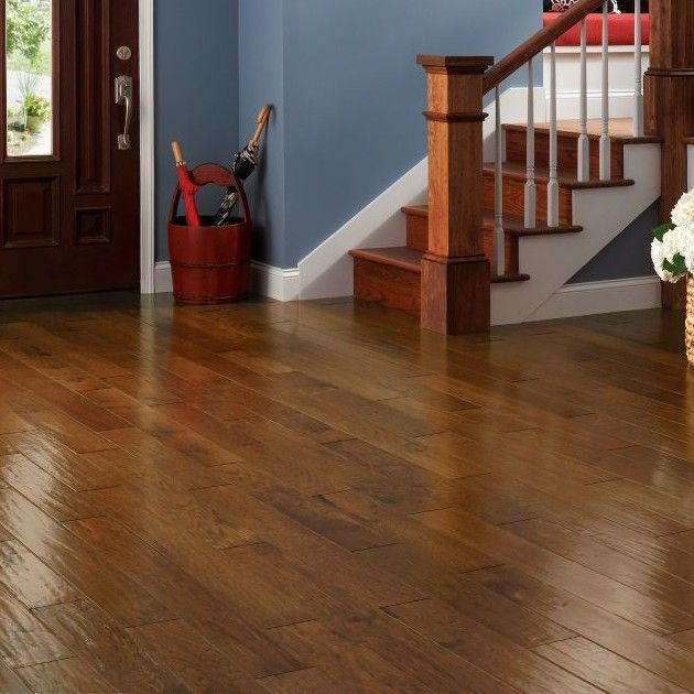 American 5 Quot Engineered Hickory Hardwood Flooring In Autumn