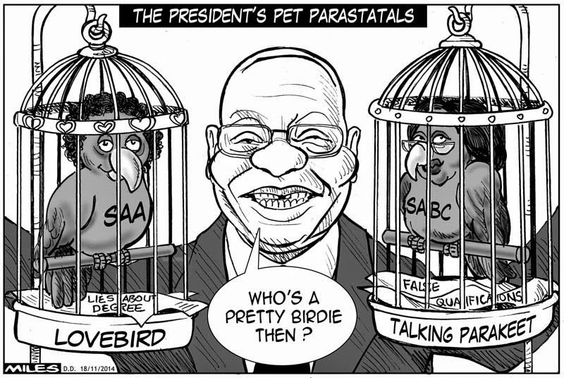 Cartoons by Miles: Parasites
