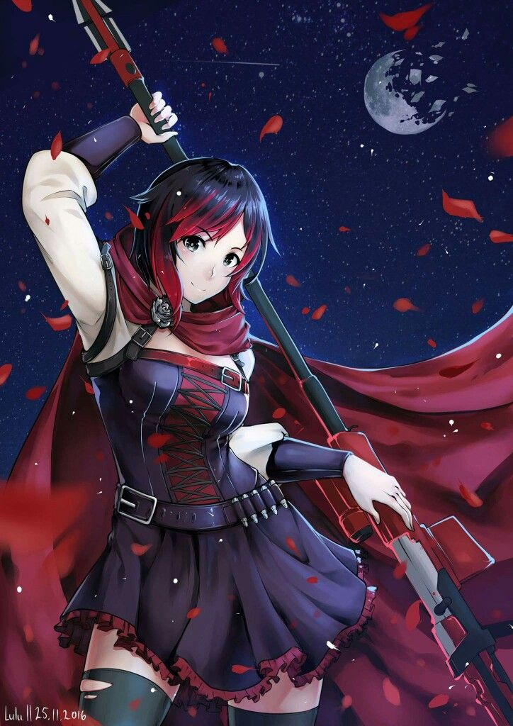 Ruby fanart for my best friend. She requested this many ...  |Ruby Red Fan Art