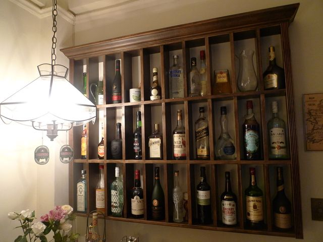 Liquor Shelf Storage Home Bar Furniture Bars For