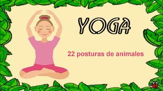 Actividades Para Educación Infantil 22 Posturas De Animales Para Practicar Yoga Yoga Para Niños Yoga Infantil Posturas De Yoga Para Niños