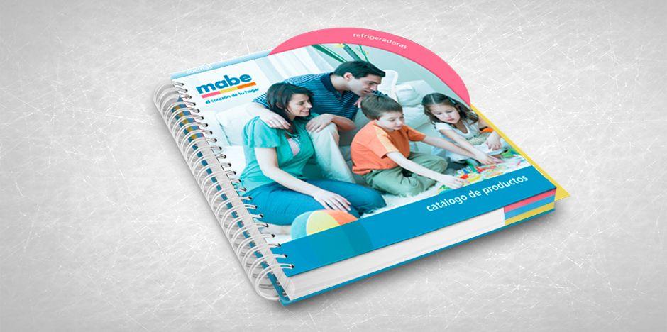 MABE - Diseño y diagramación de catálogo MABE - Catalogue design