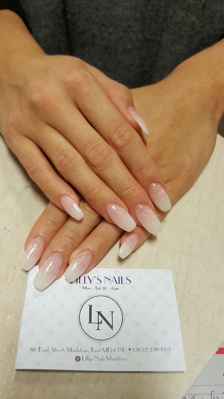 Sns ombre french holiday nailssummer in pinterest nails