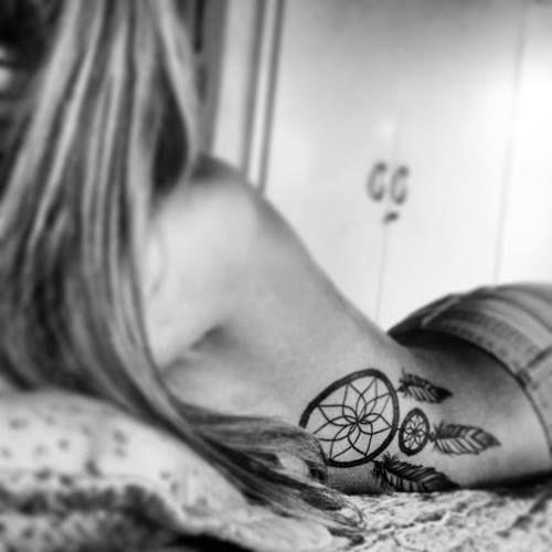 dream catcher tattoo #ink #YouQueen #girly #dreamcatcher #placement #tattoos