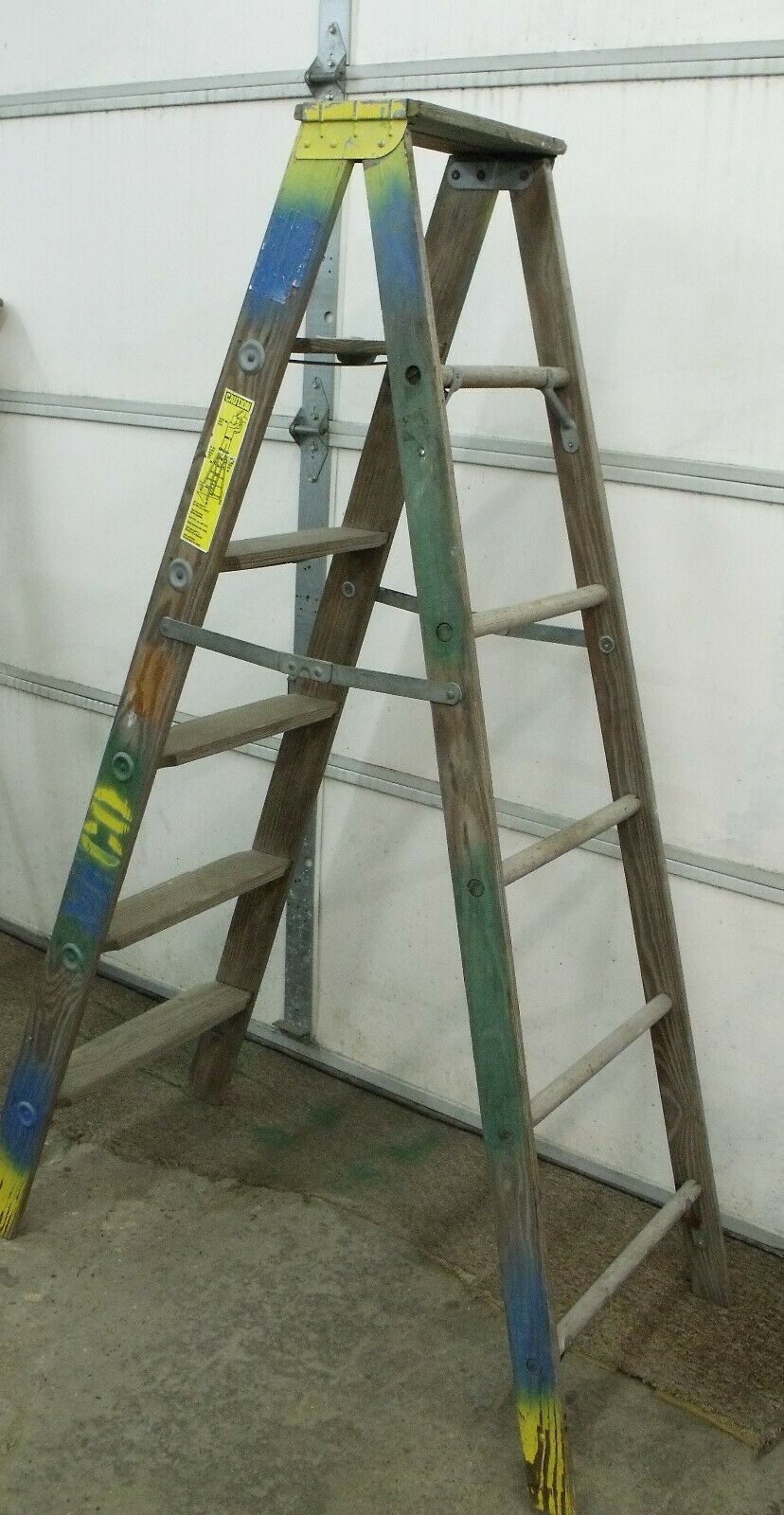 Holland Mi Usa 6 Ft Wood A Frame Step Ladder Const Home Retail Decor Rated250 Ladder Deco Blanket Ladder Decor Rustic Blanket Ladder Wooden Blanket Ladder