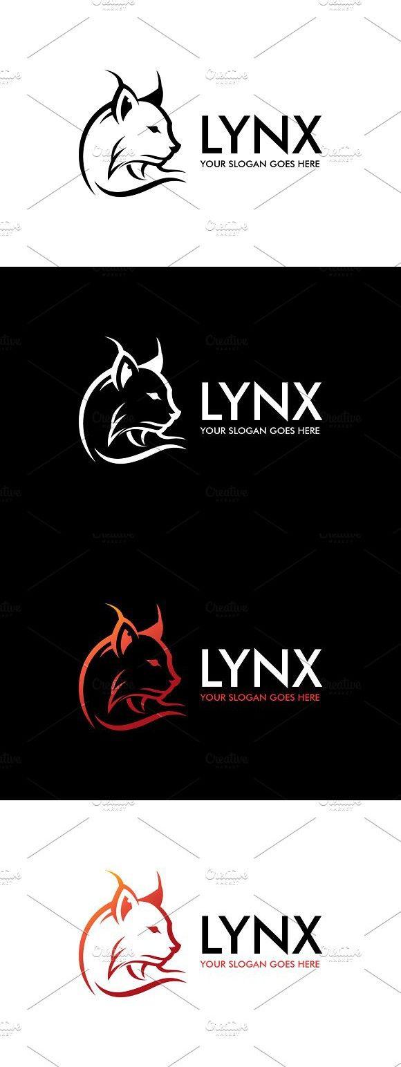 Lynx Logo | Cat | Lynx, Logos, Logo design