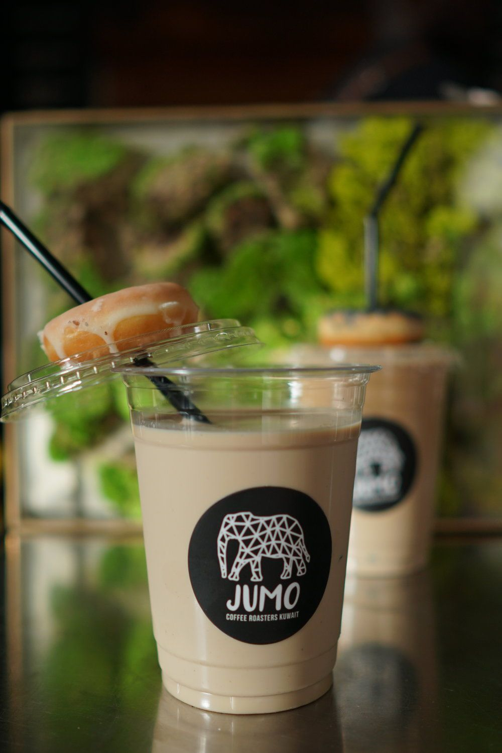 Naughty Latte Coffee And Donuts Coffee Roasters Iced Matcha Latte