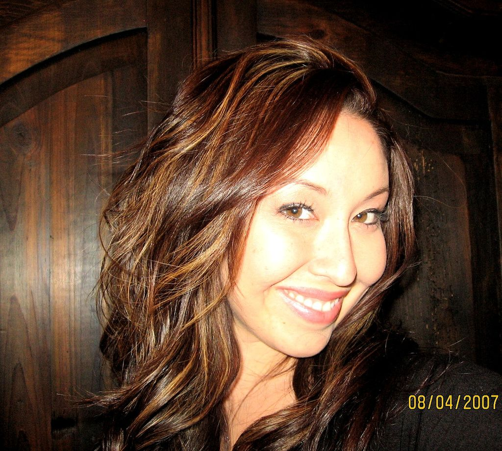 Brown hair with highlights hair trends of highlights in