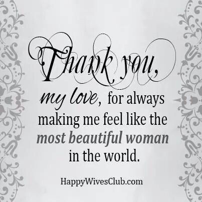 Thank You My Love Sayings Love Quotes Romantic Love Quotes
