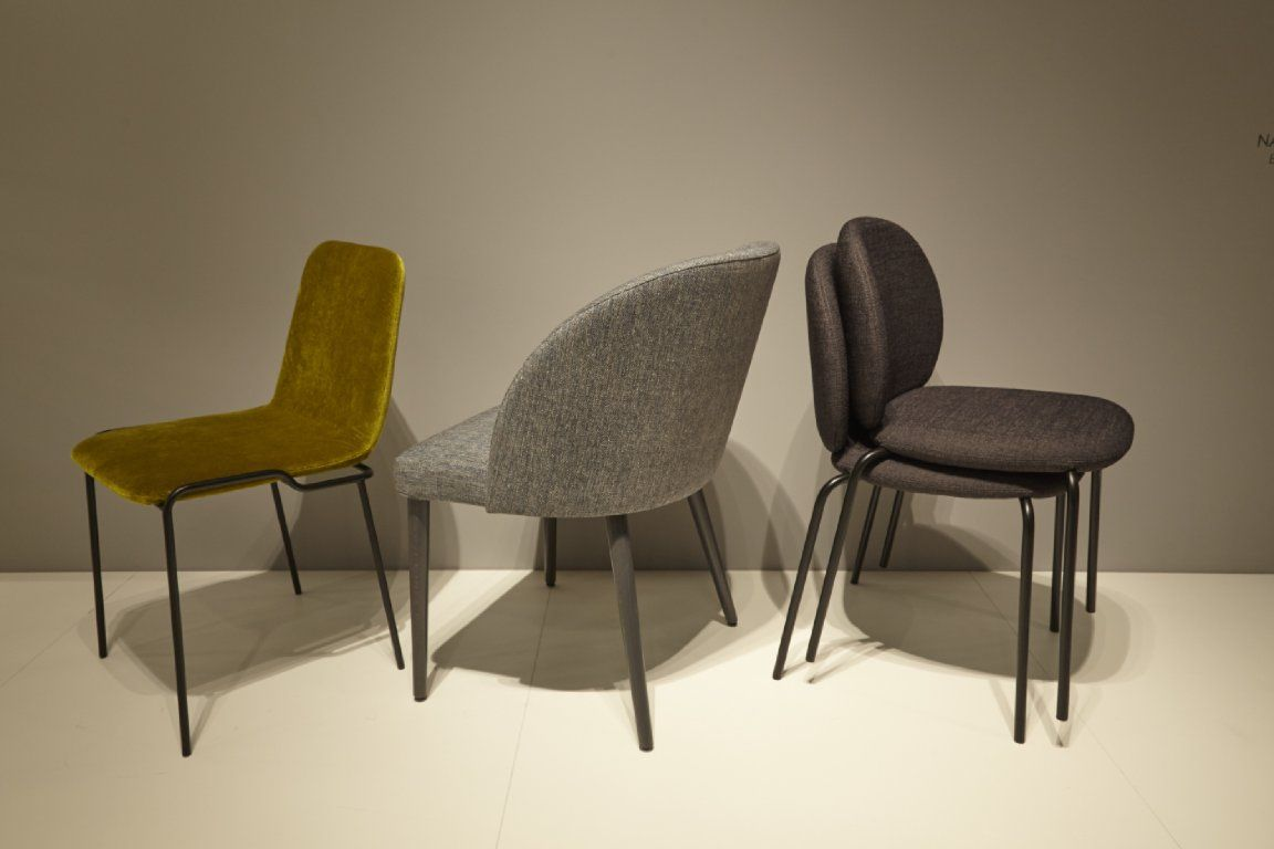 three new chairs revealed by ligne roset at paris and. Black Bedroom Furniture Sets. Home Design Ideas
