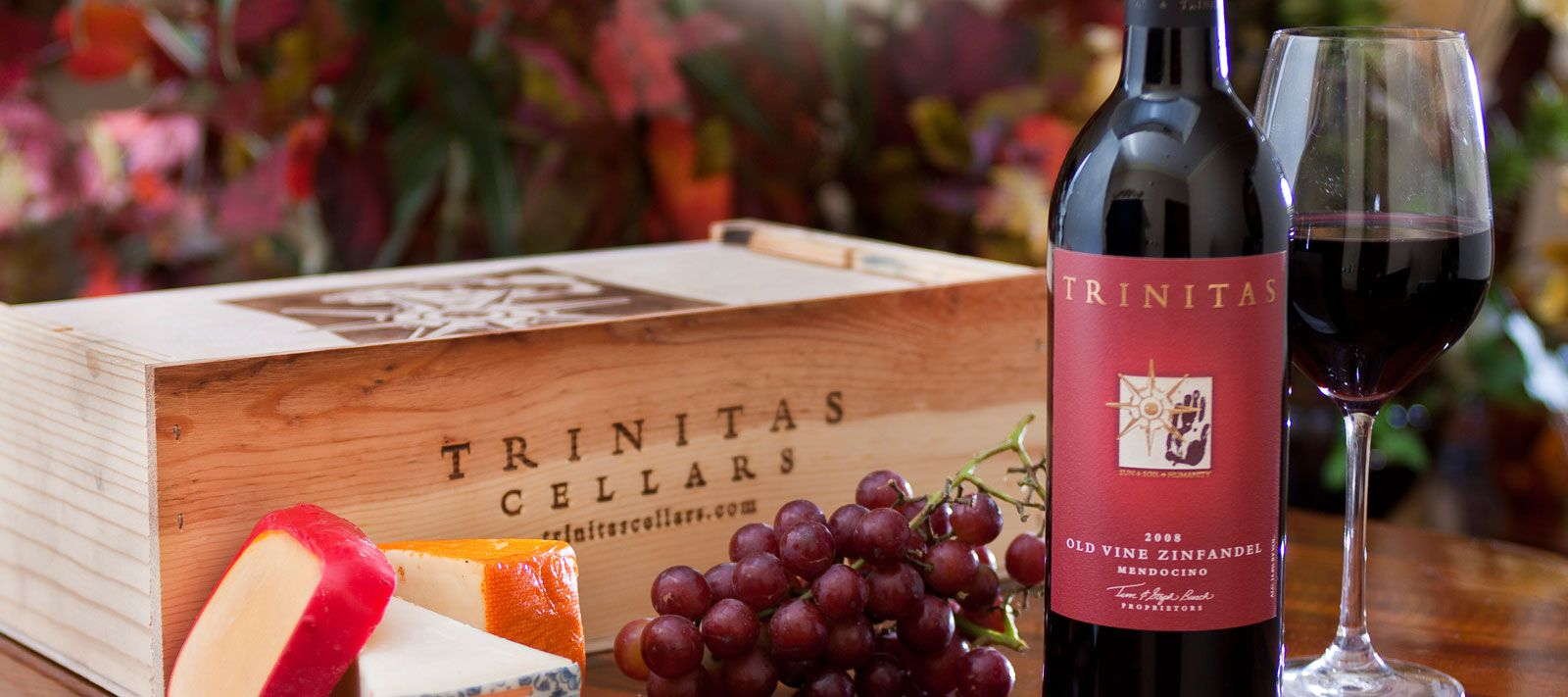Trinitas Cellars - Located in Napa Valley. Pinot Noir Zinfandel Cabernet Sauvignon Sauvignon Blanc Chardonnay & Trinitas Cellars - Located in Napa Valley. Pinot Noir Zinfandel ...