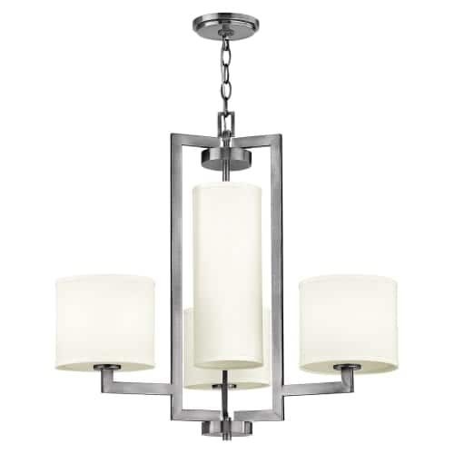 Hinkley Lighting 3209 4 Light 2 Tier Chandelier From The Hampton Collection Espresso Finish