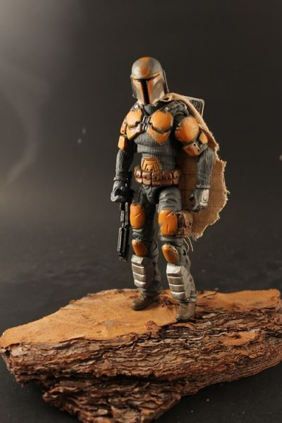 Mandalorian Warrior (Star Wars) Custom Action Figure