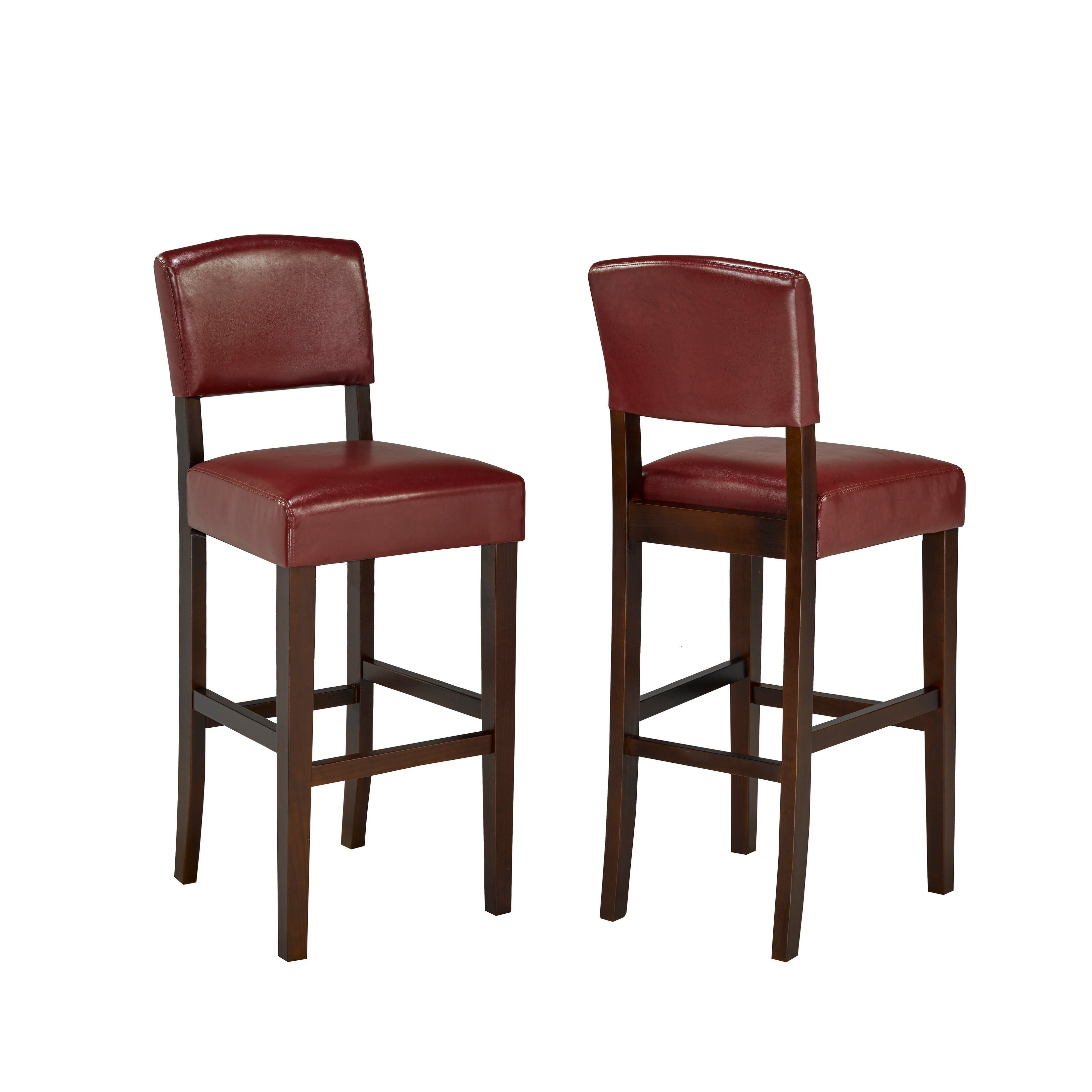 Phenomenal 29 Bar Stool Set Of 2 Red In 2019 Products Bar Stools Machost Co Dining Chair Design Ideas Machostcouk