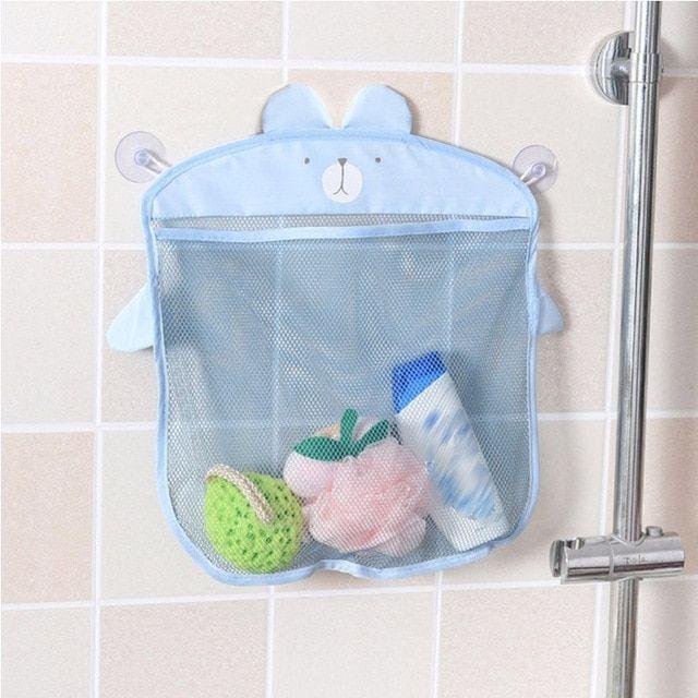 Bathroom Accessories Cartoon Storage Basket Kitchen Supplies