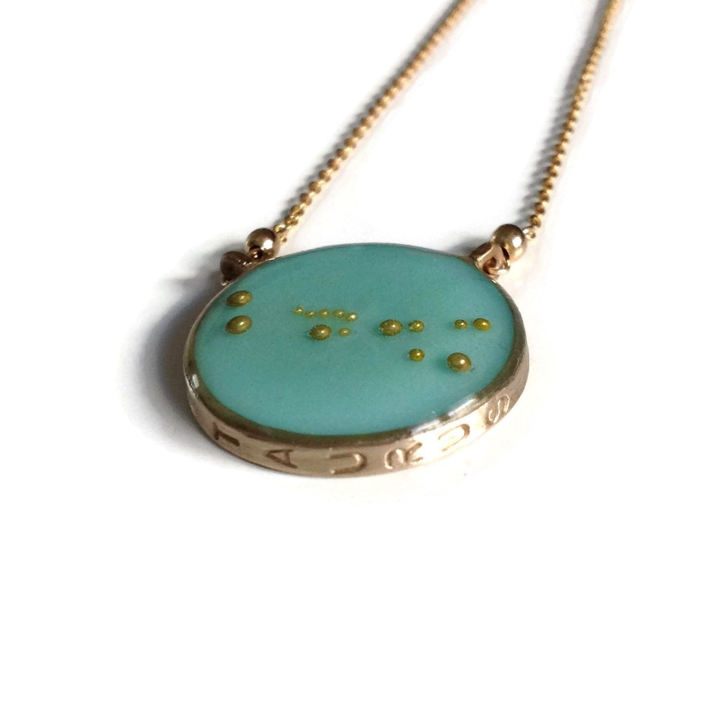 Taurus Constellation Necklace Zodiac Necklace Gold Necklace