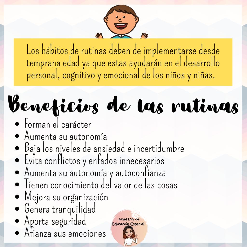 Importancia De Las Rutinas En La Infancia Educacion Emocional Educacion Emocional Infantil Frases De Educacion
