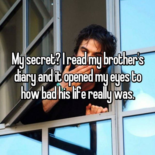 19 Secrets People Learned From Reading Someone Else's Diary