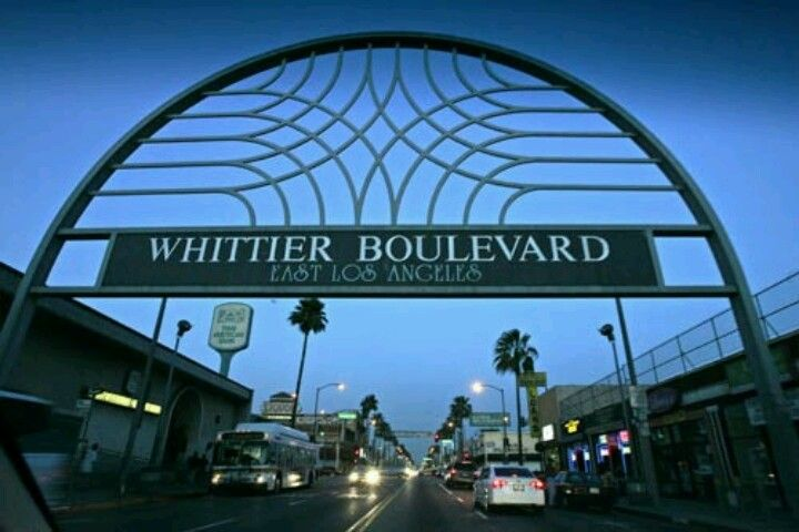East Los Angeles Often Shortened To East L A Or East Los Or In Spanish El Este De Los Angeles Is An Unincorporated A Whittier Blvd East Los Angeles Whittier