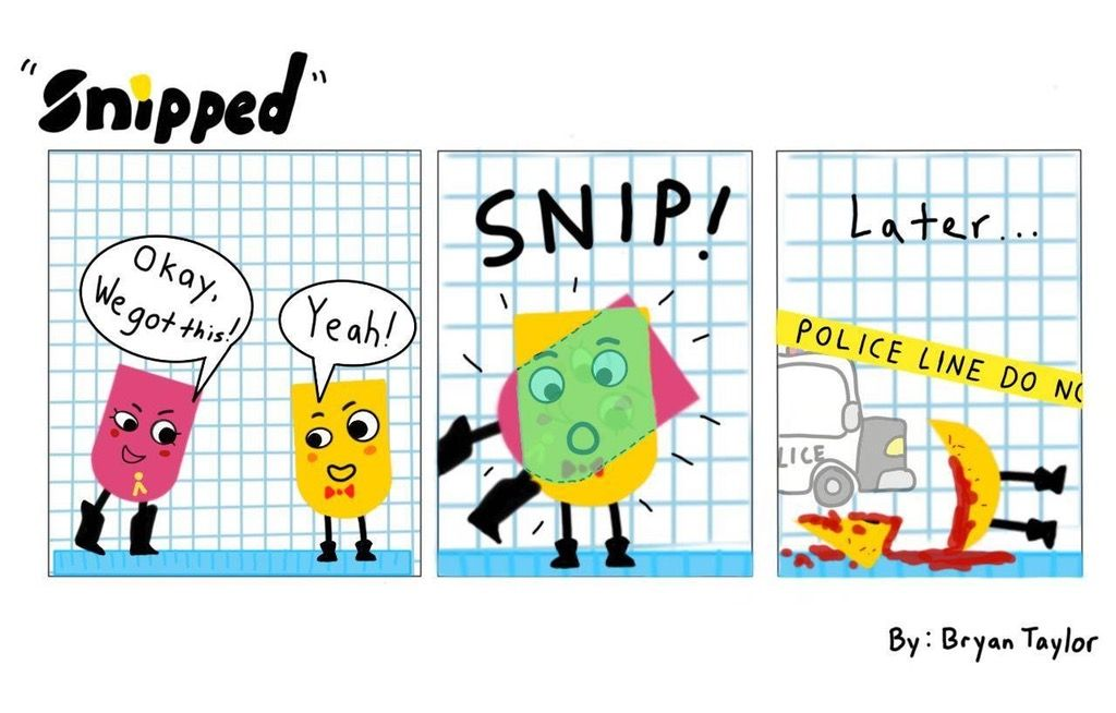 """""""Snipped"""" A Snipperclips Comic NintendoSwitch"""
