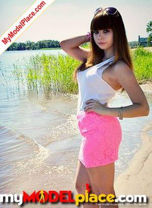 new teen model portfolio