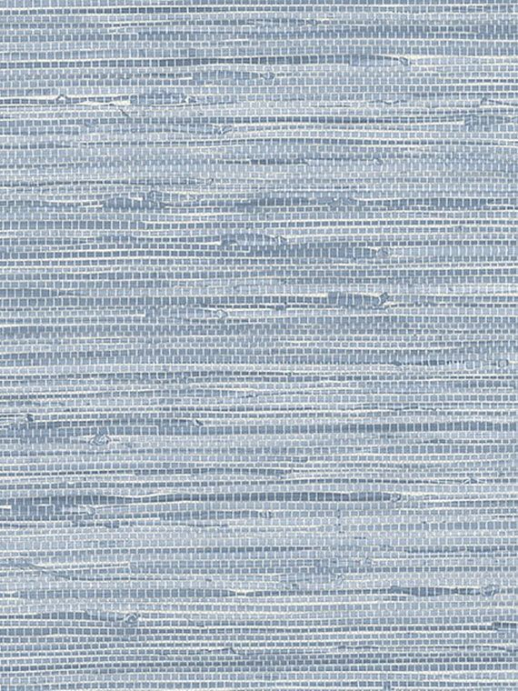 Ocean Blue Faux Grasscloth Wallpaper Pa34213 Sold By The Yard Grasscloth Wallpaper Grass Wallpaper Wallpaper Bedroom