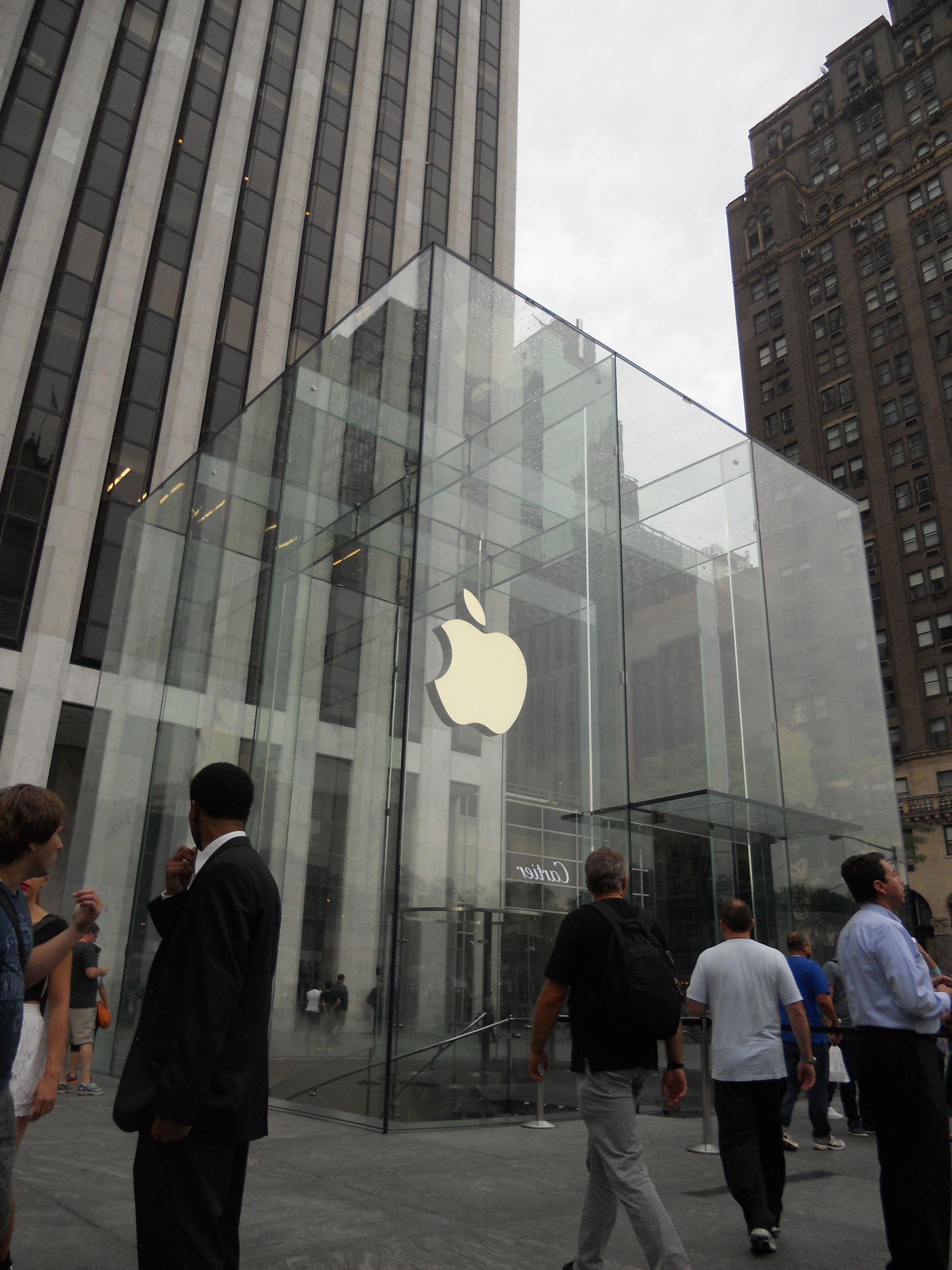 Apple Store, Fifth Avenue nel New York, NY