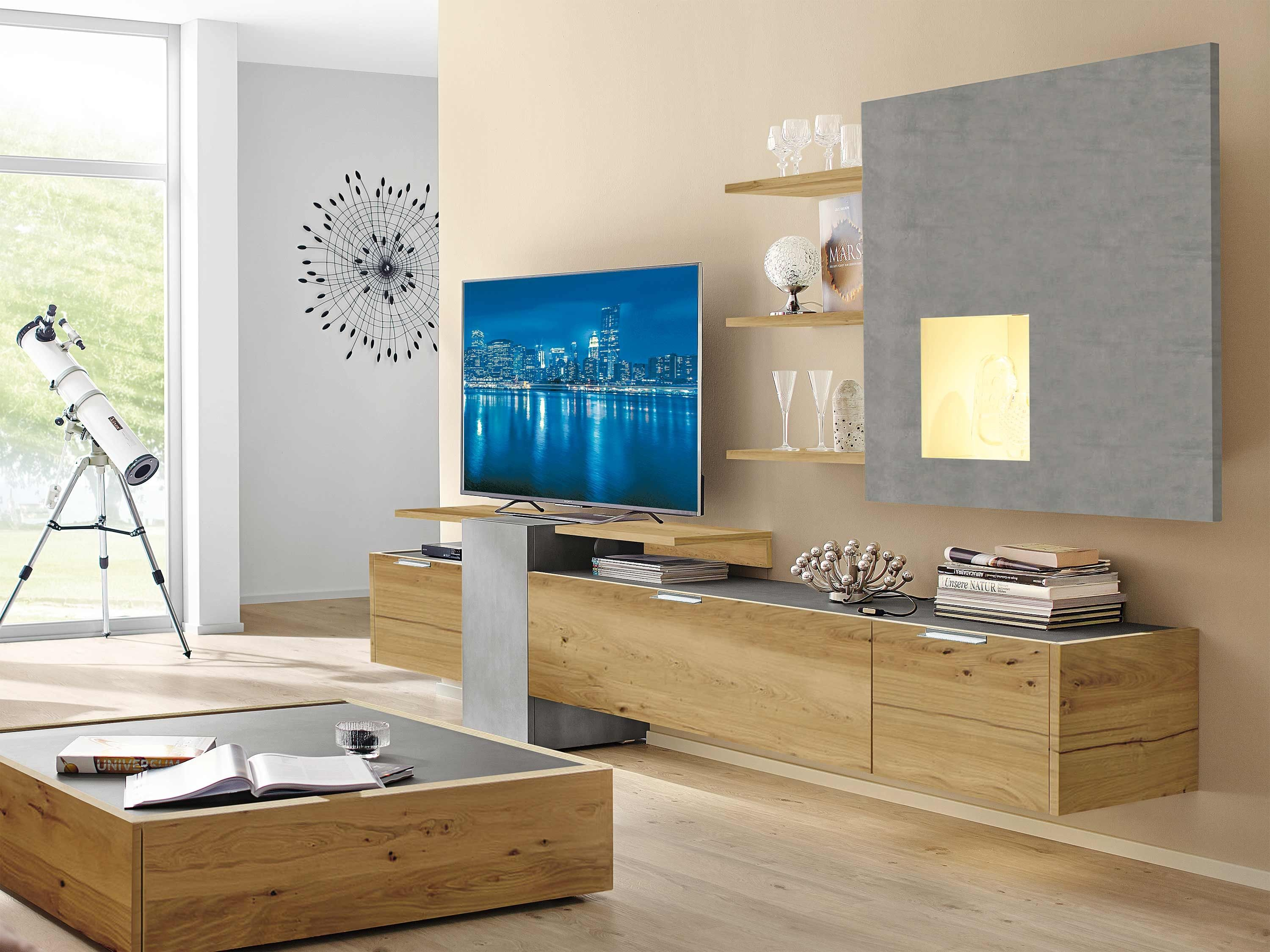 wohnwand h lsta fena in 2019 wohnzimmer tv m bel lowboard lowboard h ngend und h lsta. Black Bedroom Furniture Sets. Home Design Ideas