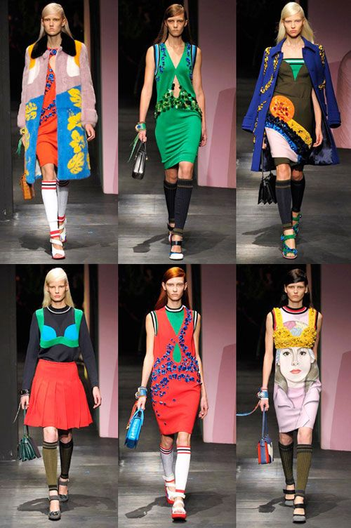 Inspiration: Prada Spring/Summer 2014, from Pikaland