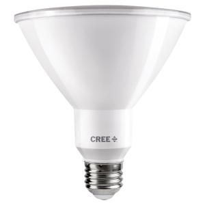Cree 150w Equivalent Bright White 3000k Par38 Dimmable Exceptional Light Quality Led 40 Degree Flood Light Bulb Tpar38 1803040fh25 12de26 1 11 The Home Depo In 2020 Flood Lights Led Flood Lights Bulb