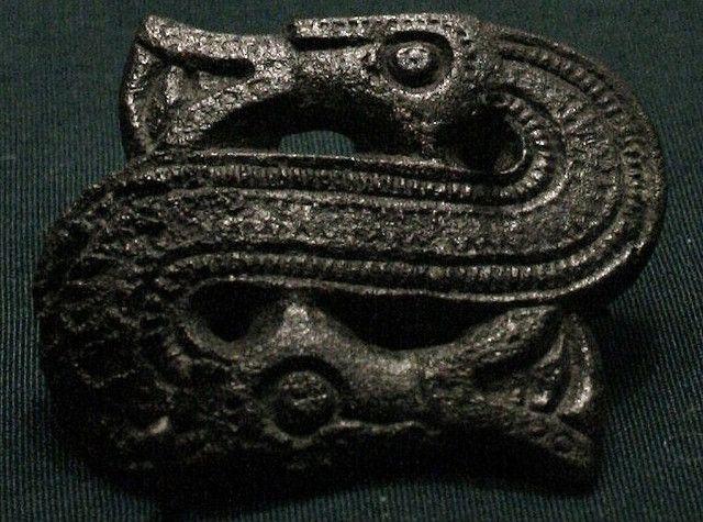 Tohodet slange. Jernalderen. saamiblog.blogspot.com/