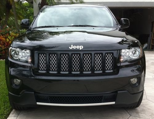 Jeep Grand Cherokee Grille Altitude Black Jeep Jeep Grand Cherokee Jeep Cherokee