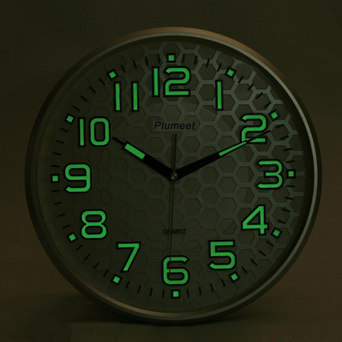 Robot Check Wall Clock Wall Clock Light Clock
