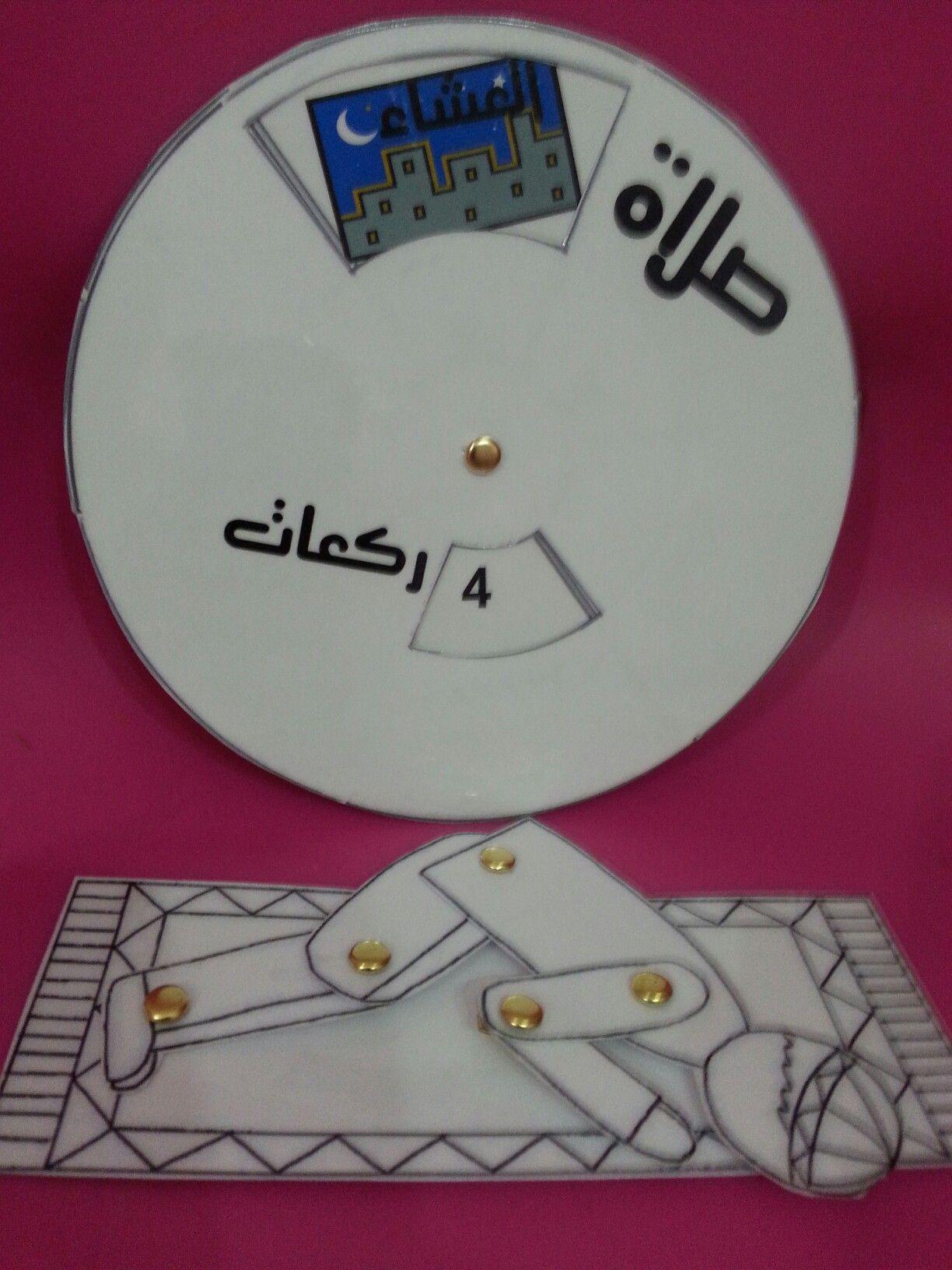 تعليم الصﻻة للصف الأول عجلة الركعات مع الرجل الدمية ممتع للأطفال يسروا وﻻ تعسروا Muslim Kids Crafts Islamic Kids Activities Muslim Kids Activities
