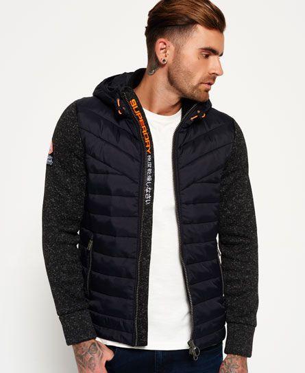 Superdry Storm Hybrid Zip Hoodie | Erkek giyim, Mont, Giyim