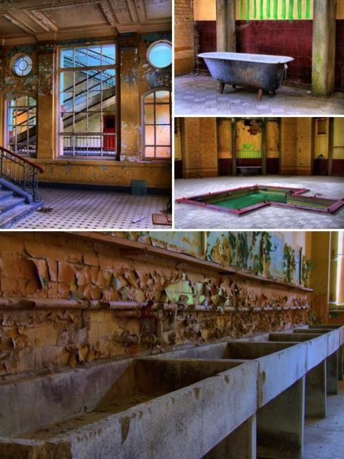 Abandoned Bath House- Beelitz, Germany