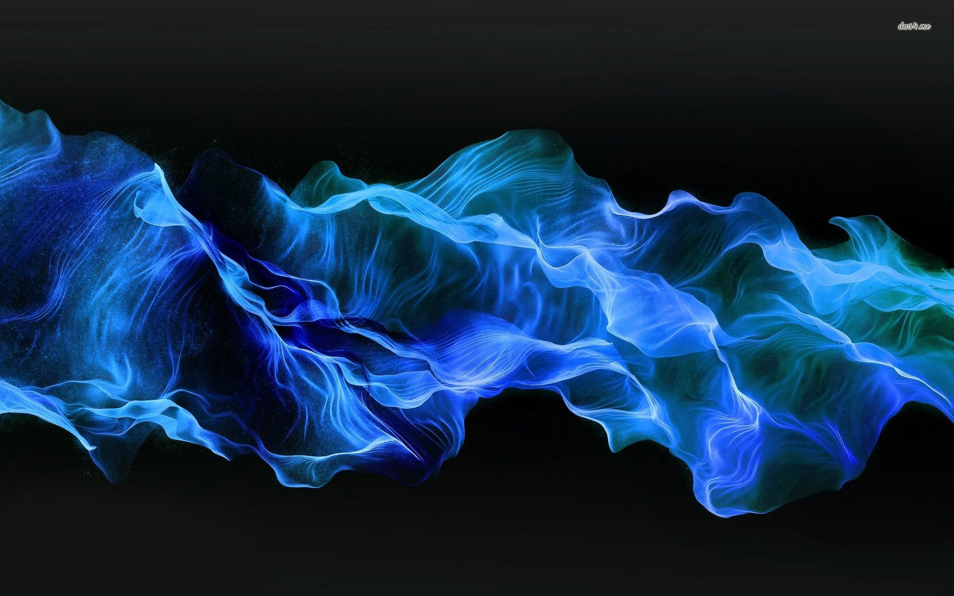 Blue Smoke Wallpaper Wallpaper Uñas azules