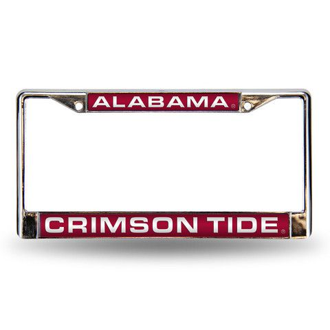 Alabama Crimson Tide NCAA Laser Chrome Frame