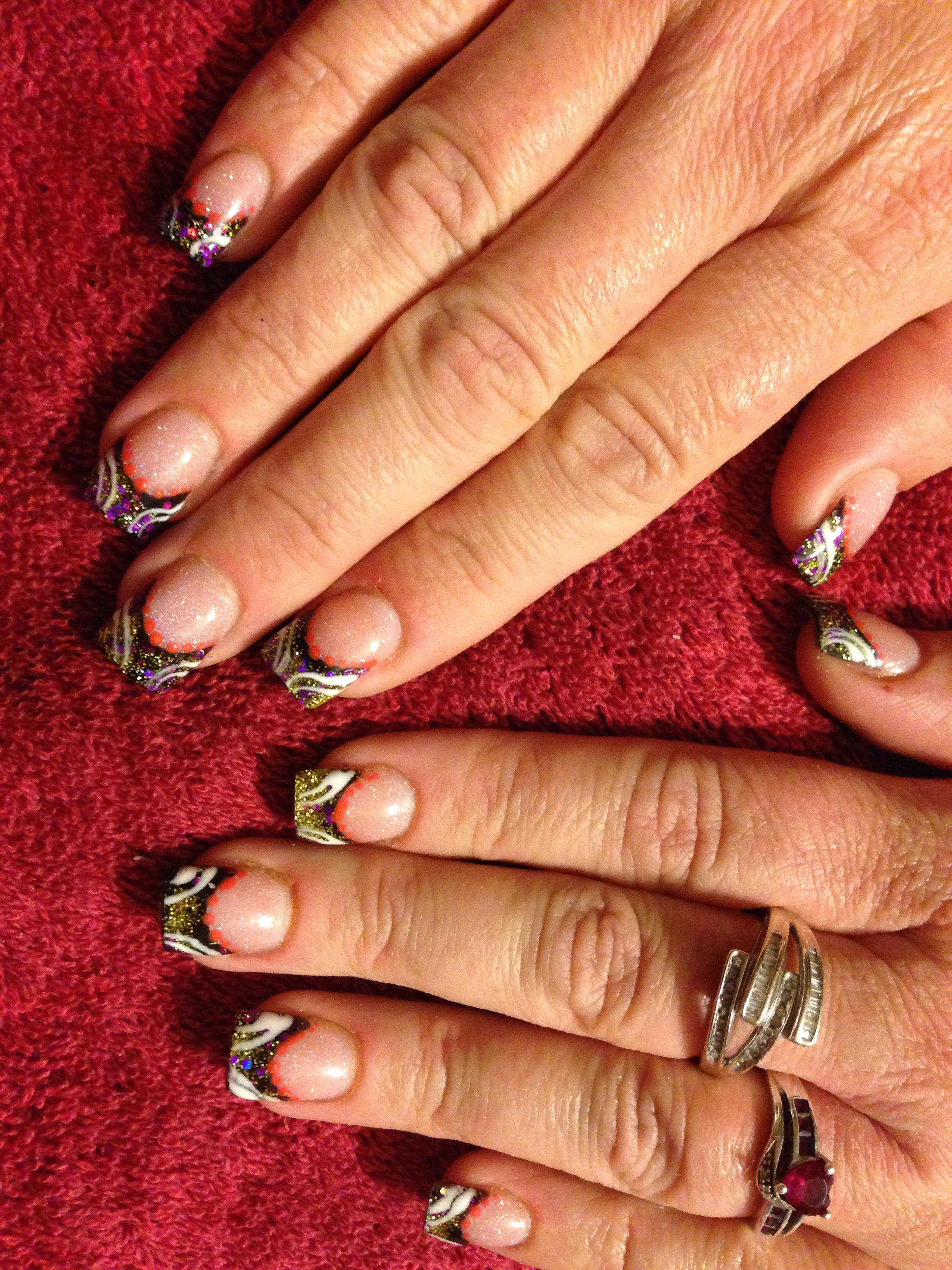 Acrylic nails saraus nail designs pinterest