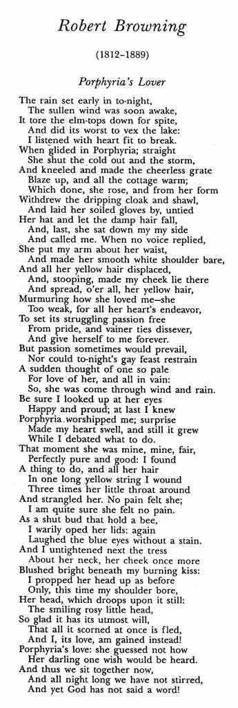 """victorian poet elizabeth browning essay Elizabeth's father, edward barrett moulton barrett, chose to raise his family in  england,  """"mr browning had angered his own father and forgone a fortune: the  poet's  in her own letters and poems"""" (victorian web: elisabeth barrett browning )  literary gazette, followed by """"an essay on mind and other poems"""" in 1826, ."""