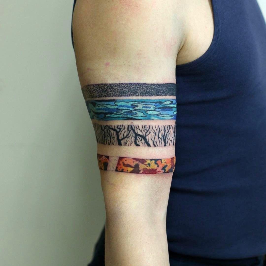 4 elements | Elements tattoo, Four elements tattoo, Tattoos